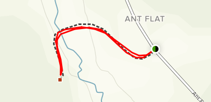 Ant Flat Historical Site Nature Trail Map