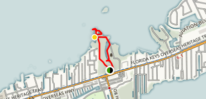 Crane Point Hammock Trails Map