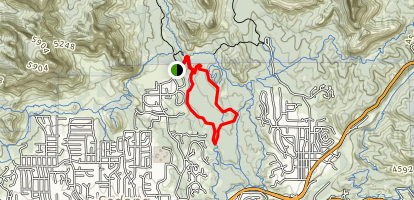 Ant Hill Loop to Adobejack Trail Map