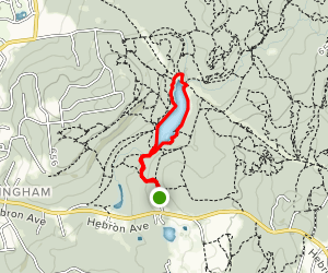 Buckingham Reservoir Trail Map