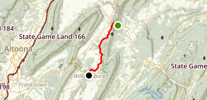 The Lower Trail Map