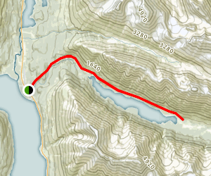 Ptarmigan Lake Trail Map
