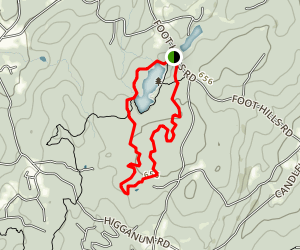 Millers Pond Red Trail Loop Map