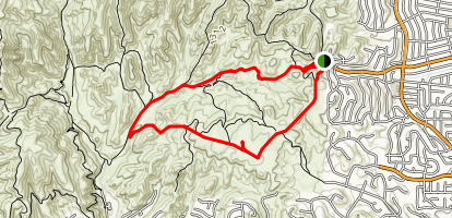 Laskey Mesa Trail Map