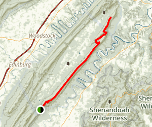 Massanutten Mountain Trail Map