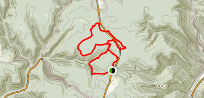 Black Forest and George and Ruth Will Ski Trails Map