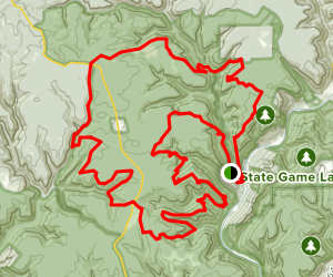 Black Forest Long Loop Map
