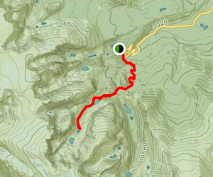 The Loch, Timberline Falls and Glass Lake Map