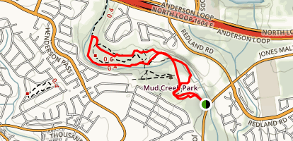 Mud Creek Trail Map