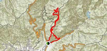 Poop Out Trail Map