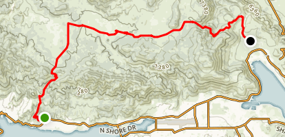 Gold Fever Trail Map