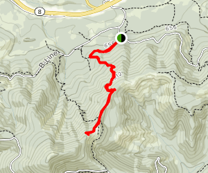North Rim Trail to Rock Candy Mountain East Trail Map