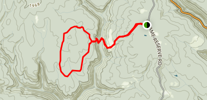 Persimmon Loop Trail Map