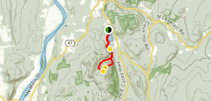 Cranberry Pond and Roaring Mountain Loop Map