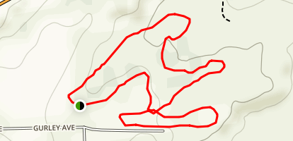 UNM Gallup - Fitness Trail Map