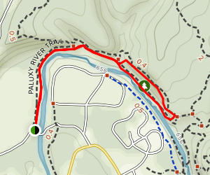 Paluxy River Trail Map