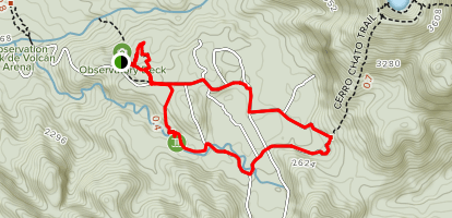 Arenal Observatory Lodge Trail Map