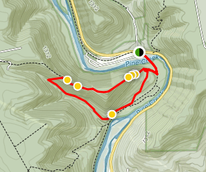 Stone Cutters Trail Map
