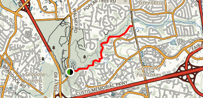 Rocky Run Stream Valley Trail Map