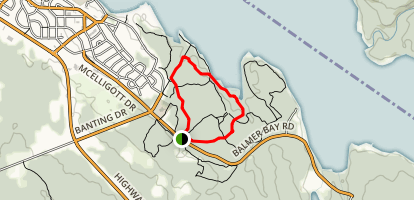 Welches Bay Loop Map
