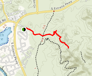 Beam Me Up Trail Map