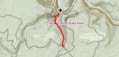 East Branch Trail Map