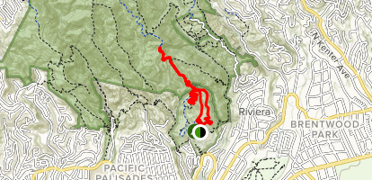 Inspiration Loop Trail Map