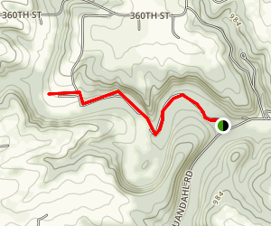North Bear Creek Map