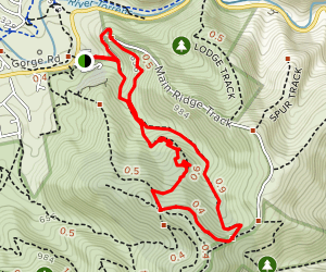 Ambers Gully and Sugarloaves Trail Loop Map