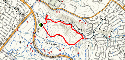 Cobbler Creek: Posora Loop Map