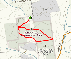 Sandy Creek: Wren Walk Map