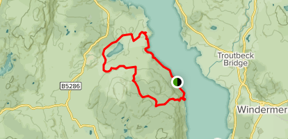 High Wray Map