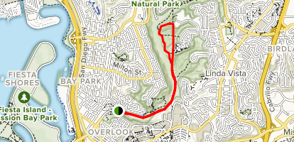 Tecolote Canyon Trail Map