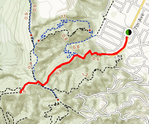 Ahwingna Trail Map