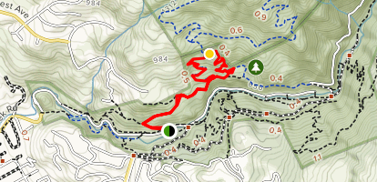 Todd L. Quick Trail Loop Map