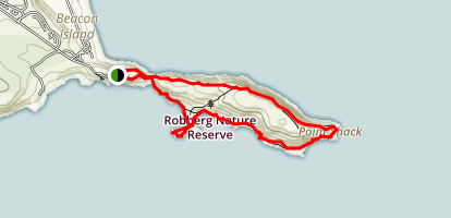 Robberg Nature Reserve Map