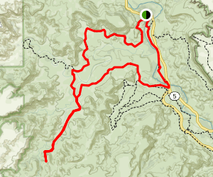 Paseo del Rio,  Lighthouse Trail, and GSL Loop Map