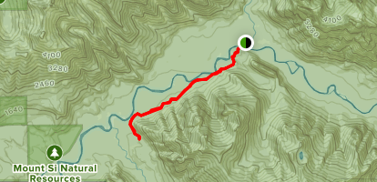 Pratt River Trail Map