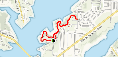 Johnny Broyles Nature Trail Map