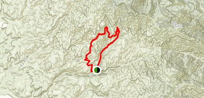 Five Mile Gulch, Watchman, and Three Bears Loop Map