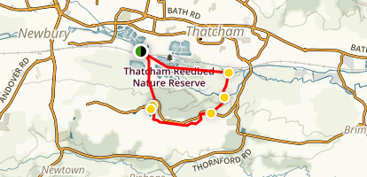 Thatcham Loop Map