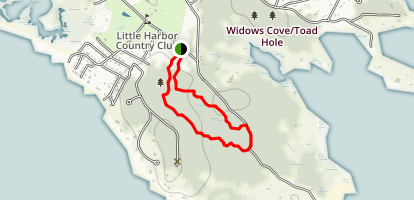 Old Pasture Loop Map