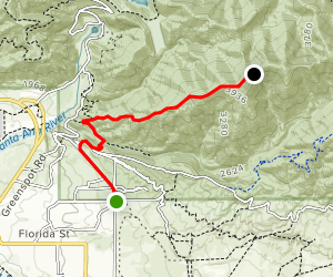 Cram Peak Ridge Trail Map