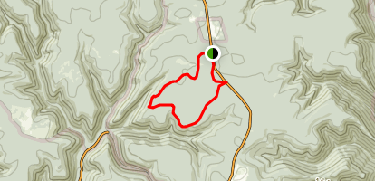 Blackberry to Black Forest Trail Loop Map
