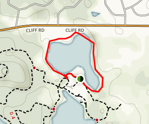 McDonough Lake Loop Map