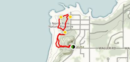 Mt. McSauba Loop Map