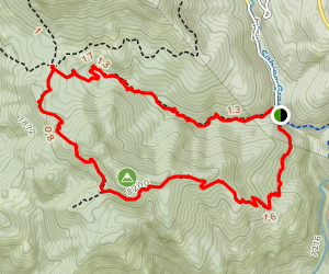 Aspen Trail and Marshall Gulch Loop Trail Map