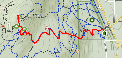 Cobble Hill Mountain Map