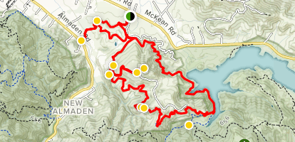 Rancho San Vicente Extended Loop Map