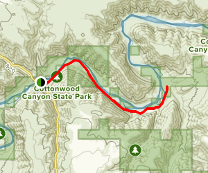 Lost Corral Trail Map